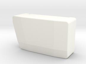 Radio Box Xray XB8E V2 in White Processed Versatile Plastic