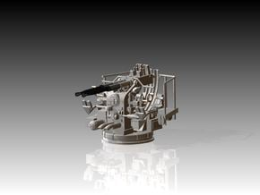 Twin Bofors 1/144 in Smooth Fine Detail Plastic