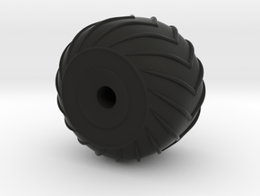 1/48 Amphicat Wheel Right - Need 3 of these in Black Natural Versatile Plastic