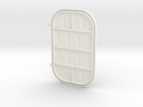 Door 5 Short in White Processed Versatile Plastic