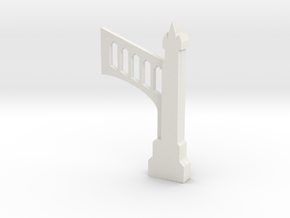 gothic buttress in White Natural Versatile Plastic