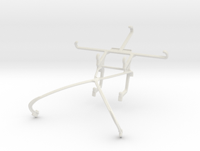 Controller mount for Shield 2015 & verykool s5015  in White Natural Versatile Plastic