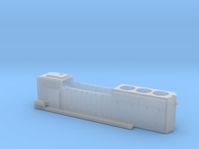 CN 5354-5363 SD40-2W Hood 1/87.1 in Smoothest Fine Detail Plastic