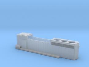 CN 53XX-5353 SD40-2W (no batten strip) Hood 1/87 in Smoothest Fine Detail Plastic