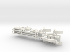 Cambrian Class 61  - 00 CHASSIS in White Natural Versatile Plastic