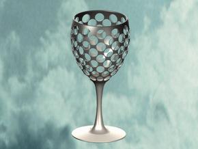 Wine Glass Sieve in White Natural Versatile Plastic