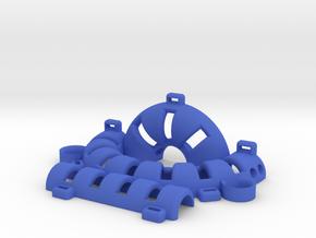 Keshe Health Ring Left in Blue Processed Versatile Plastic