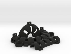 Keshe Health Ring Right in Black Natural Versatile Plastic