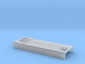 DB0007 SD40-2W Engine Room Hatch, Rebuilt 1/87.1 in Smoothest Fine Detail Plastic