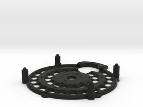 Magrav Stacker Plate Centre And Bottom in Black Natural Versatile Plastic