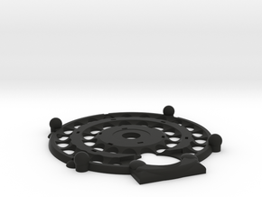 Magrav Stacker Plate Top in Black Natural Versatile Plastic