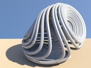 Dequan Li attractor 50mm in White Natural Versatile Plastic