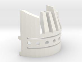 OR V2 Chassis - Part 4 of 4 - Board Cover in White Natural Versatile Plastic