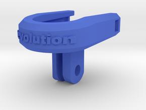 Ion Air CamLOCK Direct GoPro Mount in Blue Processed Versatile Plastic