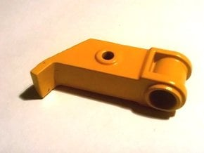 Fairlead Base Weserhutte W180 in Smooth Fine Detail Plastic