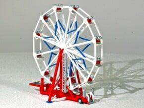 "Ferris Wheel ""Big Eli NY5"" - 1:220 / 1:160 / 1:87 in White Natural Versatile Plastic: 1:220"