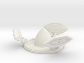 Missile Silo (Open) in White Natural Versatile Plastic