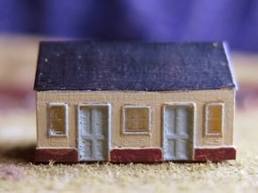 1/450 Station Building in Smooth Fine Detail Plastic
