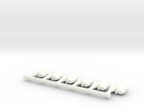 Mon Cal Fighters 2 in White Processed Versatile Plastic