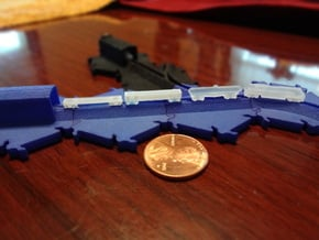 Freight Train Set (track not included) in Smooth Fine Detail Plastic