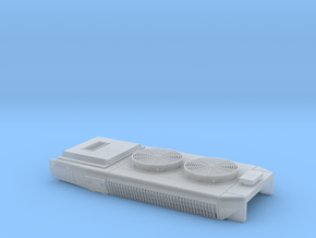 DB0023 SD40-2 DB, Q Exhst, No Btn 1/87.1 in Smoothest Fine Detail Plastic
