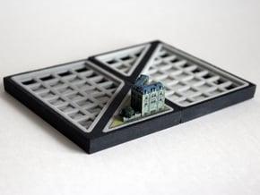 Diagonal Baseplate 8x4 in Full Color Sandstone