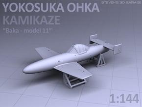 Japanese YOKOSUKA OHKA - Kamikaze airplane in Smooth Fine Detail Plastic
