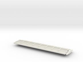 Bridge sides with railings  in White Natural Versatile Plastic