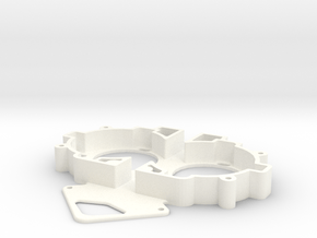 VooDoo2_BOTTOM in White Processed Versatile Plastic