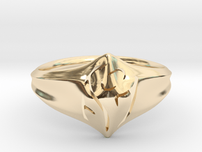 Mom Ring in 14K Yellow Gold