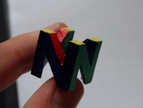 Cherry MX - Keycap - N64 Logo in White Processed Versatile Plastic