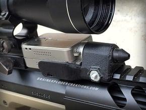 RunCam2 Zoom Lens Mount (Pinhole Lenses 11mm D) in Black Natural Versatile Plastic