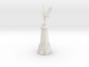 28/32mm War Memorial in White Natural Versatile Plastic