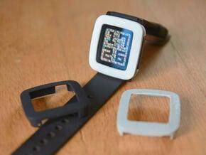 Pebble Time Bumper cover in White Processed Versatile Plastic