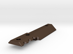 Kyosho Mini-Z MR-03 Chassis Ballast Weight in Polished Bronze Steel