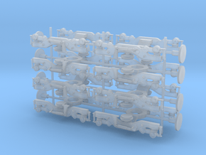180 Adelante Bogie Set in Smooth Fine Detail Plastic