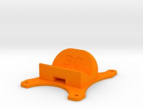 Emax Nighthawk 250 - 30° Action Cam Mount in Orange Processed Versatile Plastic