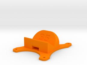Emax Nighthawk 250 - 35° Action Cam Mount in Orange Processed Versatile Plastic