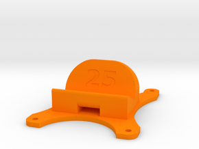 Emax Nighthawk 250 - 25° Action Cam Mount in Orange Processed Versatile Plastic