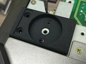 SX-64 Handle Joint Side Part in Black Natural Versatile Plastic