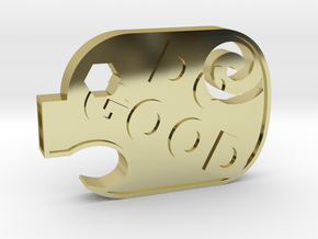 DoGood Pig in 18k Gold Plated Brass