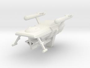Huron, 1:3788 Scale in White Natural Versatile Plastic