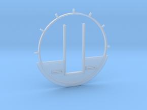 DeAgo Cockpit Backwall for Paragrafix PE set in Smooth Fine Detail Plastic