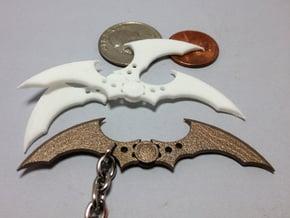 Arkham Asylum Batarang in White Natural Versatile Plastic
