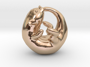 Otterboros in 14k Rose Gold Plated Brass