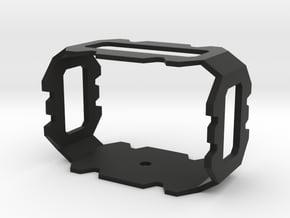 DSLR Microphone mount in Black Natural Versatile Plastic