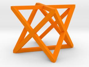 xCube Small in Orange Processed Versatile Plastic