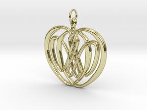 Iðunnarepli - An apple of Iðunn in 18k Gold Plated Brass