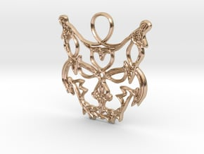 Freyjuköttur - Cat of Freyja in 14k Rose Gold Plated Brass