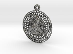 Gjafir Njarðar - The Gifts of Njörður in Fine Detail Polished Silver